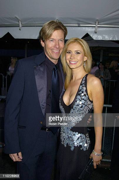 Jack Wagner and Ashley Jones during 32nd Annual Daytime Emmy Awards Outside Arrivals at Radio City Music Hall in New York City New York United States
