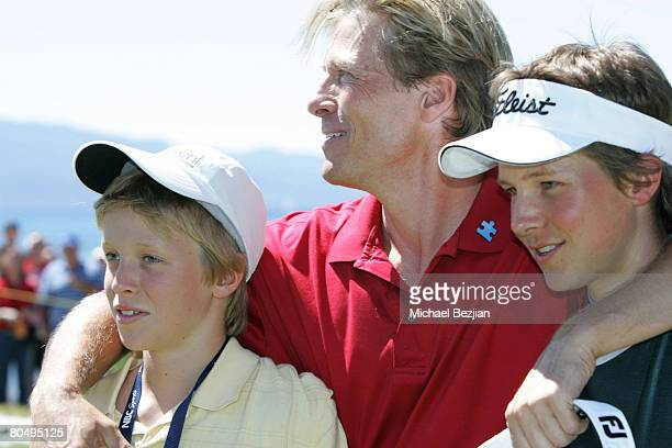 Jack Wagner and sons