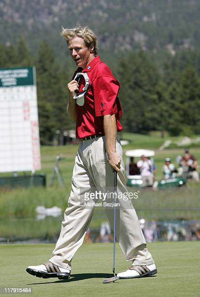 Jack Wagner during American Century Celebrity Golf Championship July 16 2006 at Edgewood Tahoe Golf Course in Lake Tahoe California United States