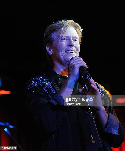 Jack Wagner performs at BB King Blues Club Grill on April 9 2015 in New York City