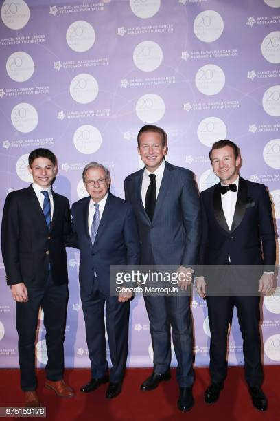 Jack Waxman Dr Samuel Waxman Chris Wragge and Lucas Hunt during the Dr Samuel Waxman Cancer Research Foundation's COLLABORATING FOR A CURE 20th...