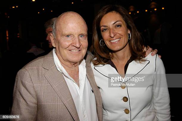 Jack Welch and Suzy Welch attend American Institute for Stuttering Gala Luncheon at Queen Mary 2 Red Hook on June 10 2007 in Brooklyn New York