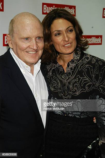 Jack Welch and Suzy Welch attend BUSINESSWEEK Unveils Newly Redesigned Magazine at Guastavino's on October 11 2007 in New York City