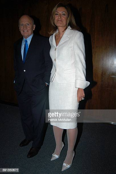 Jack Welch and Suzy Welch attend Rupert Murdoch Hosts a Cocktail Reception for the Release of Jack Welch's Book Winning at Four Seasons on April 6...