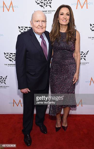 Jack Welch and Suzy Welch attend the 2015 To The Rescue New York Gala at Cipriani 42nd Street on November 13 2015 in New York City