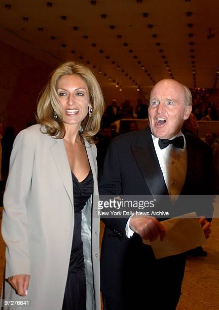 Jack Welch and wife Suzy Wetlaufer attend the Literacy Partners 20th Annual Gala honoring Tom Brokaw Tim Russert and Jack Welch Lincoln Center...