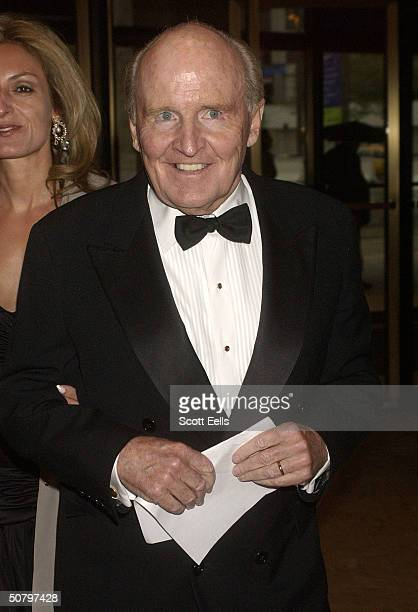 Jack Welch arrives for the 20th Anniversary Celebration of Literacy Partners where famous authors and politicians read selected readings to promote...
