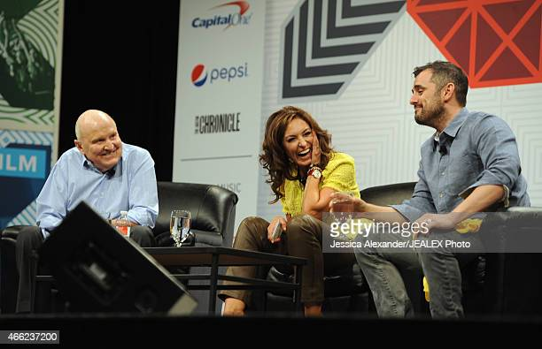 Jack Welch Executive Chairman of The Jack Welch Management Institute author Suzy Welch and Gary Vaynerchuk CEO of VaynerMedia speak onstage at 'What...