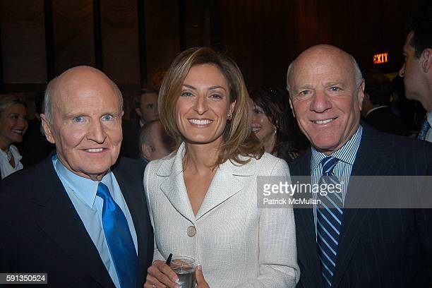 Jack Welch Suzy Welch and Barry Diller attend Rupert Murdoch Hosts a Cocktail Reception for the Release of Jack Welch's Book Winning at Four Seasons...