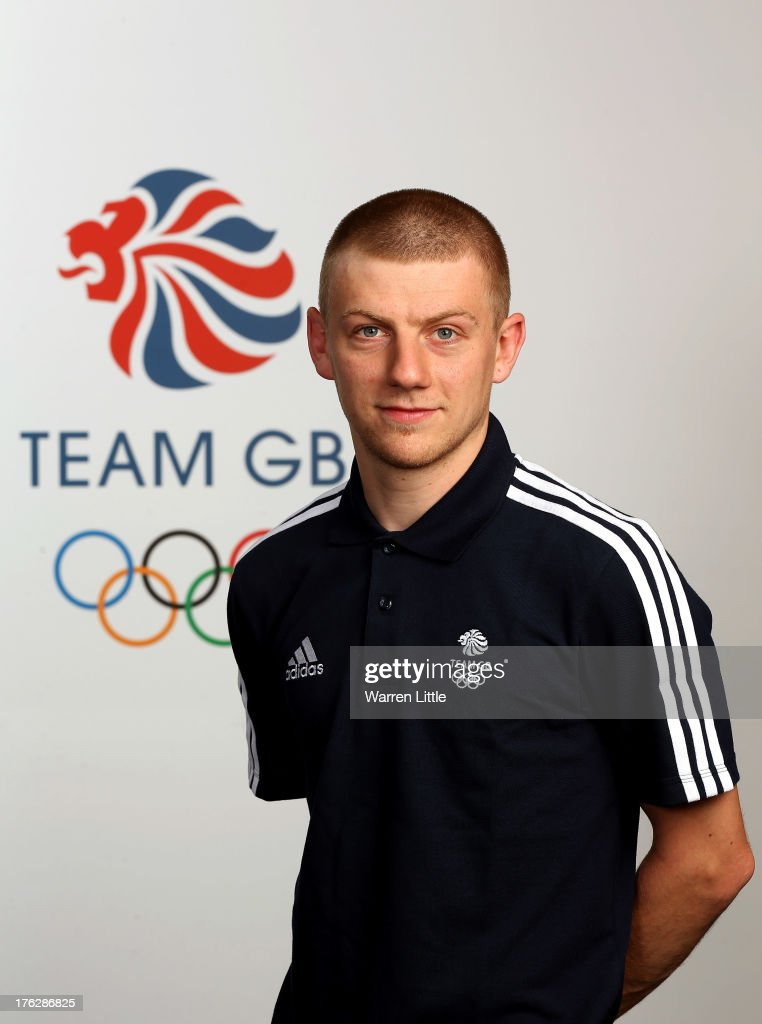 Jack Whelbourne of the British Winter Olympic Short Track Speed Skating Team poses for a portrait during the Team GB Winter Olympic Media Summit at Bath University on August 9, 2013 in Bath, England.