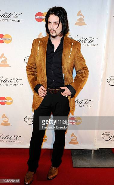 Jack White attends the GRAMMY Salute to Country Music Honoring Loretta Lynn presented by Mastercard and hosted by The Recording Academy at Ryman...