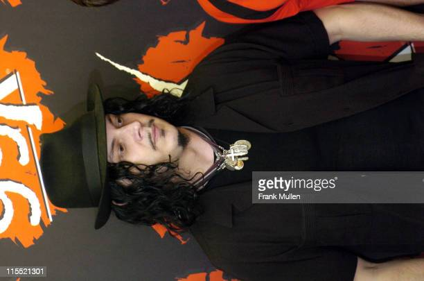 Jack White during 12th Annual Music Midtown Festival Day 1 Backstage and Audience at Midtown and Downtown Atlanta in Atlanta Georgia United States