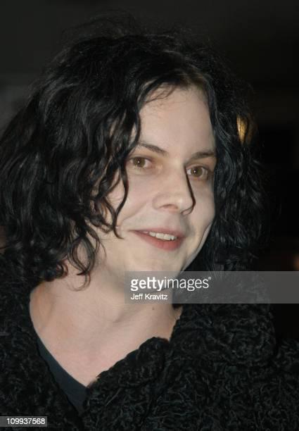 Jack White during MTV Europe Music Awards 2003 Arrivals at Ocean Terminal Arena in Edinburgh Scotland