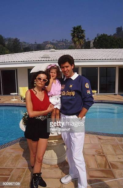 Jack White MarieLouise Gassen Tochter Antonia Los Angeles Kalifornien USA Baby Haus SwimmingPool Promi Foto PBischoff