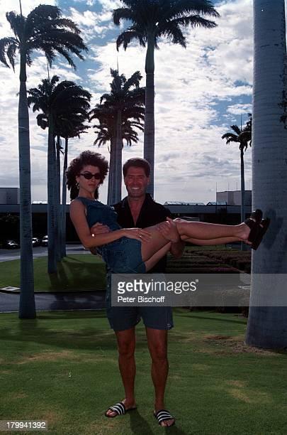 Jack White mit Ehefrau Janine BigIsland/Hawaii/Amerika/USA Urlaub Ausflugzum Nachbar Hotel Hapuna Beach PrinceHotel