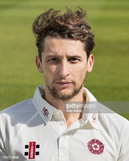 Jack White of Northamptonshire during the Northamptonshire County Cricket Club Photo Shoot at The County Ground on July 10 2020 in Northampton England
