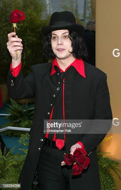 Jack White of the White Stripes during The 46th Annual Grammy Awards Arrivals at Staples Center in Los Angeles California United States