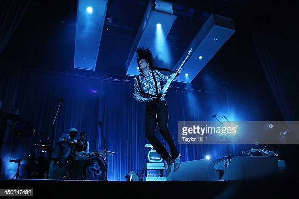 Jack White performs on day 2 of the 2014 Governors Ball Music Festival at Randall's Island on June 7 2014 in New York City