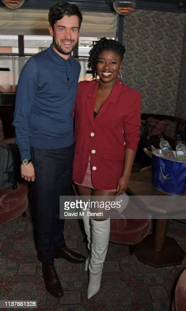 Jack Whitehall and Clara Amfo attend the launch of the new GREY GOOSE brand platform 'Live Victoriously' turning an average Tuesday night into an...