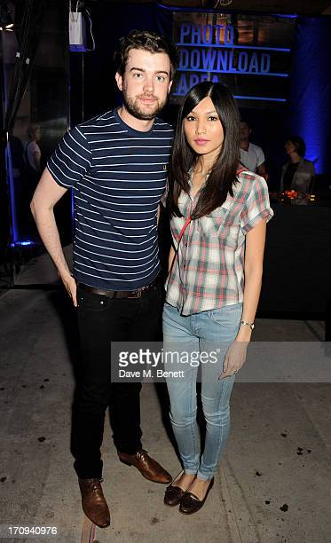 Jack Whitehall and Gemma Chan attend the launch of 'Denim Lovers' Selfridges' new advertising campaign featuring Jourdan Dunn and Rosie Tapner...