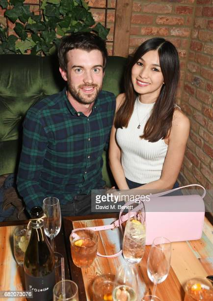 Jack Whitehall and Gemma Chan attend the launch of The Curtain in Shoreditch on May 11 2017 in London England