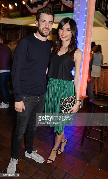 Jack Whitehall and Gemma Chan attend the star studded VIP launch party for truTV a brand new larger than life TV channel launching on 4th August at...