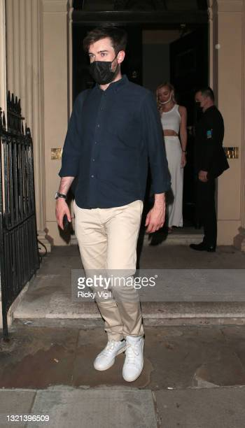 Jack Whitehall and girlfriend Roxy Horner attend Joshua Kane's ambassador dinner in partnership with Victoria The App, showcasing his summer...