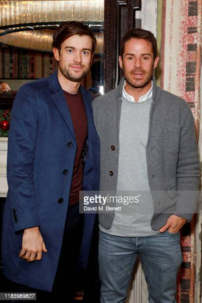Jack Whitehall and Jamie Redknapp attend a screening of the Netflix documentary Tell Me Who I Am at The Covent Garden Hotel on November 22 2019 in...