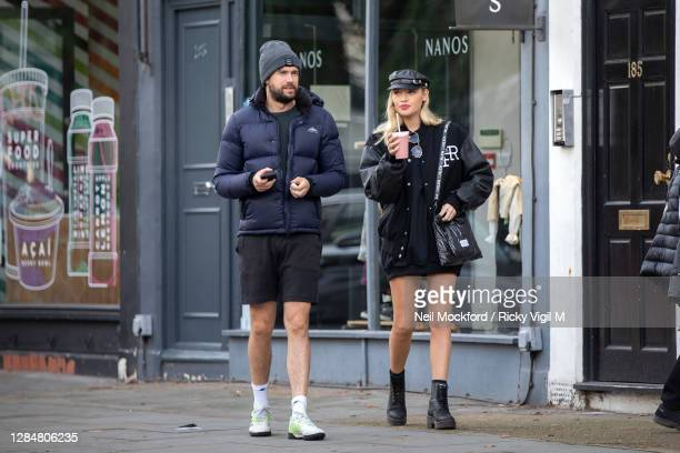 Jack Whitehall and Roxy Horner seen in Notting Hill on November 09, 2020 in London, England.