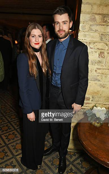 Jack Whitehall and sister Molly Whitehall attend Harvey Weinstein's pre-BAFTA dinner in partnership with Burberry and GREY GOOSE at Little House...