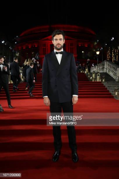 Jack Whitehall arrives at The Fashion Awards 2018 In Partnership With Swarovski at Royal Albert Hall on December 10 2018 in London England