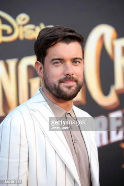 Jack Whitehall arrives at the world premiere for JUNGLE CRUISE, held at Disneyland in Anaheim, California on July 24, 2021.