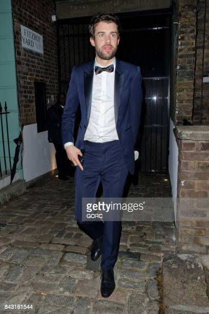 Jack Whitehall at the GQ awards afterparty in Primrose Hill on September 5 2017 in London England