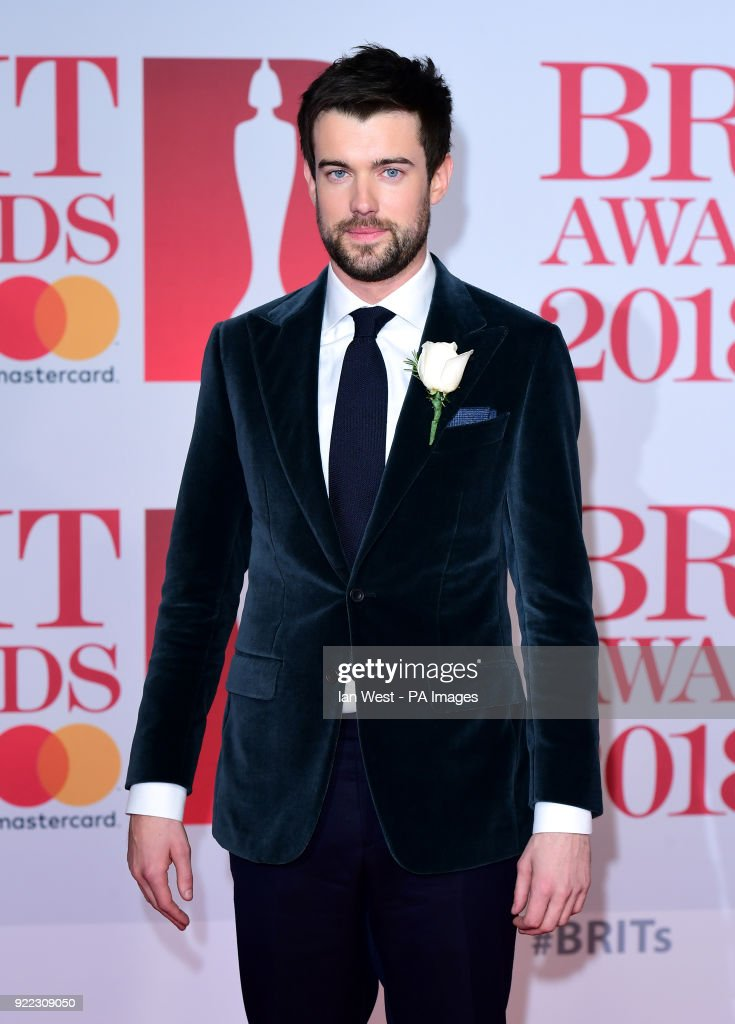 Jack Whitehall attending the Brit Awards at the O2 Arena, London.