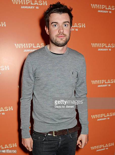 Jack Whitehall attends a drinks reception ahead of a special screening of 'Whiplash' at The Soho Hotel on January 14 2015 in London England