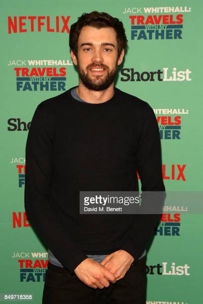 Jack Whitehall attends a photocall for 'Jack Whitehall Travels with My Father' at Charlotte Street Hotel on September 19 2017 in London England