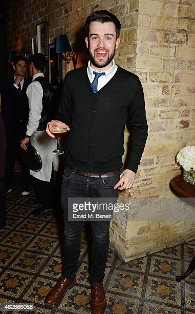 Jack Whitehall attends Harvey Weinstein's BAFTA Dinner in partnership with Burberry GREY GOOSE at Little House Mayfair on February 6 2015 in London...