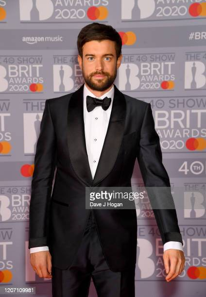 Jack Whitehall attends The BRIT Awards 2020 at The O2 Arena on February 18, 2020 in London, England.