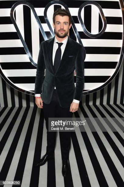 Jack Whitehall attends the Brits Awards 2018 After Party hosted by Warner Music Group Ciroc and British GQ at Freemasons Hall on February 21 2018 in...