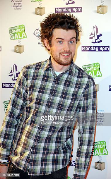 Jack Whitehall attends the Channel 4 Comedy Gala in aid of Great Ormond Street Hospital at 02 Arena on March 30, 2010 in London, England.