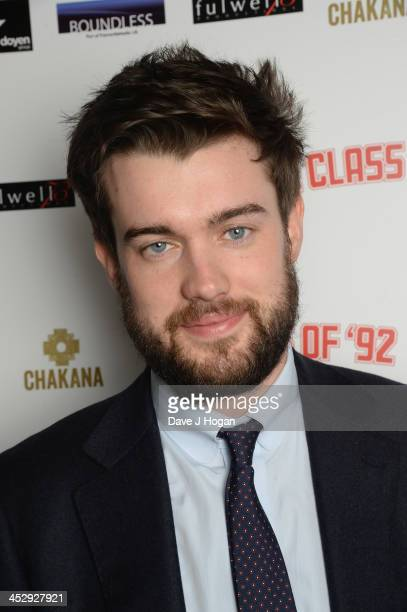 Jack Whitehall attends the Class Of 92 world premiere afterparty at Chakana on December 1 2013 in London England