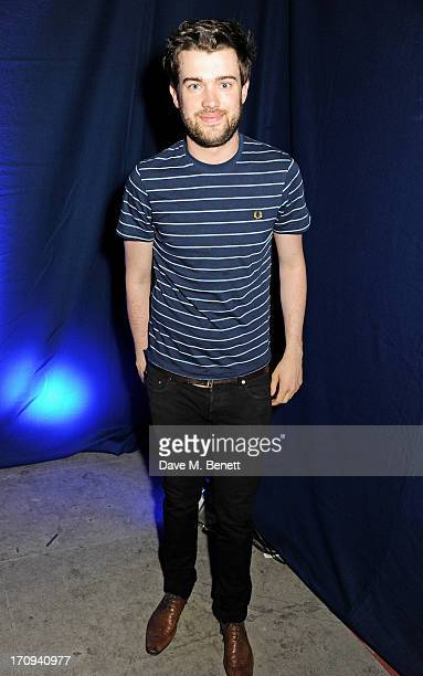 Jack Whitehall attends the launch of 'Denim Lovers' Selfridges' new advertising campaign featuring Jourdan Dunn and Rosie Tapner cocreated by a...