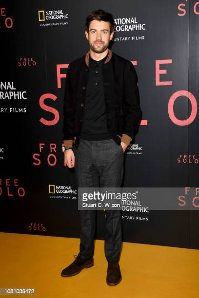 Jack Whitehall attends the National Geographic's gala screening of Free Solo at BFI Southbank on December 11 2018 in London England
