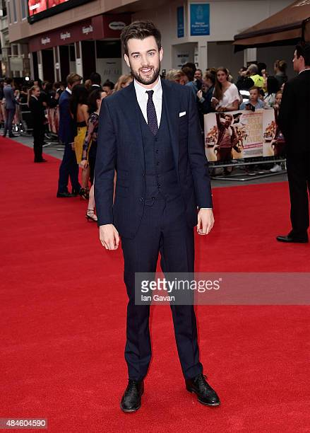 Jack Whitehall attends the World Premiere of 'The Bad Education Movie' at the Vue West End on August 20 2015 in London England