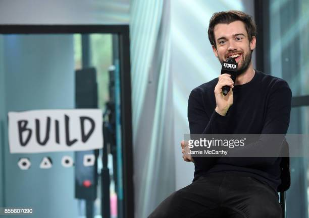 Jack Whitehall visits the Build series to discuss Jack Whitehall Travels with My Father at Build Studio on September 29 2017 in New York City
