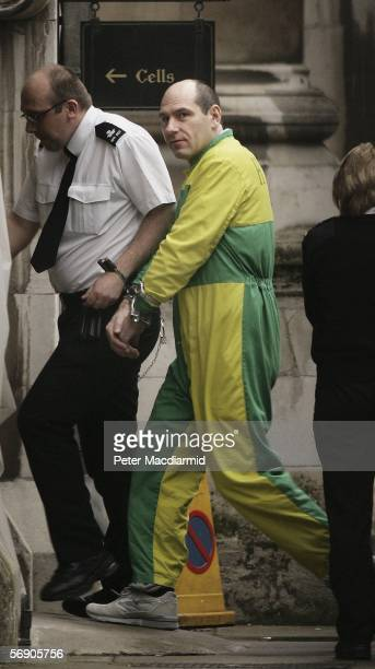 Jack Whomes arrives at the Appeal Court on February 22 2006 in London Whomes was jailed for life with accomplice Michael Steele at the Old Bailey in...