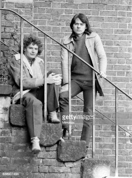 Jack Wild and Mark Lester who were the stars of the 1968 musical film Oliver 13th February 1981