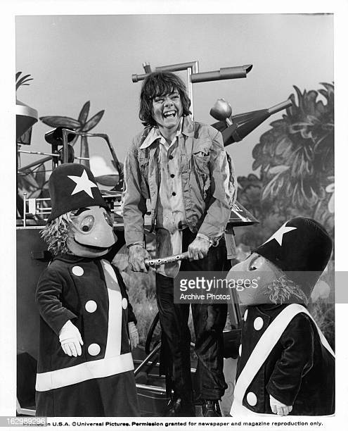 Jack Wild laughing in a scene from the film 'Pufnstuf' 1970