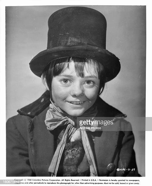 Jack Wild playing the Artful Dodger publicity portrait for the film 'Oliver' 1968