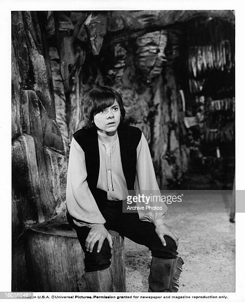 Jack Wild staring in a scene from the film 'Pufnstuf' 1970